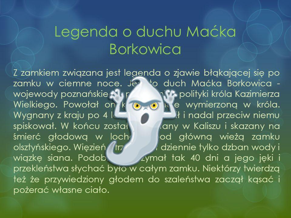 Legenda o duchu Maćka Borkowica