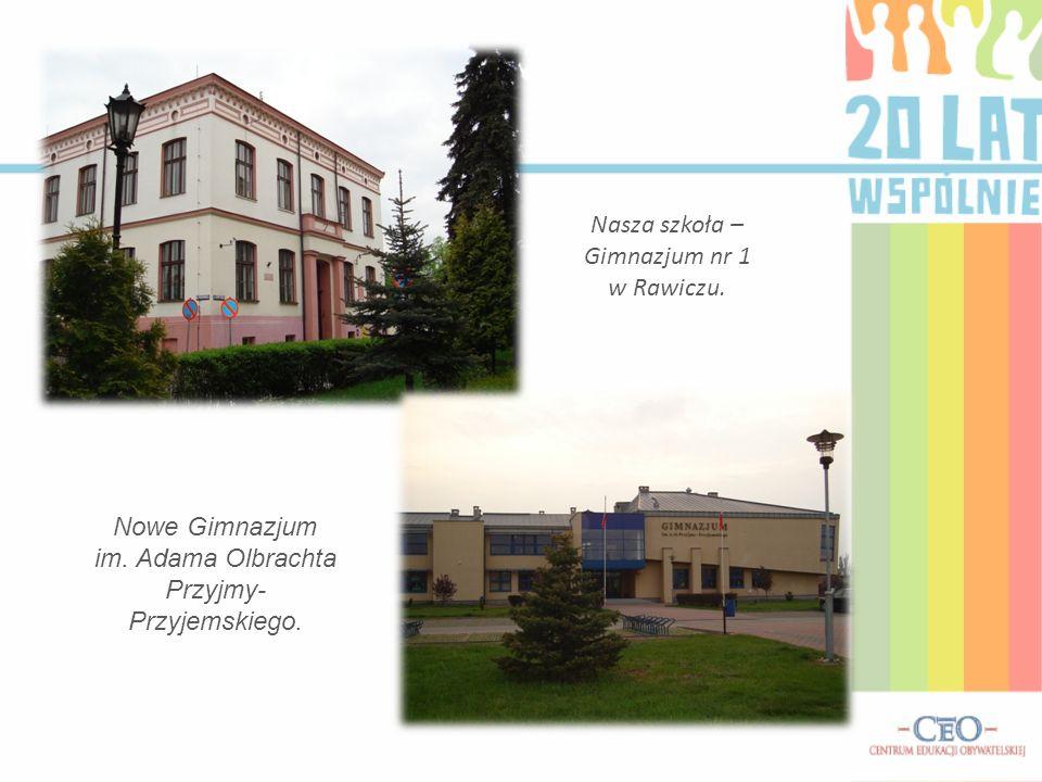 Nasza szkoła – Gimnazjum nr 1 w Rawiczu.