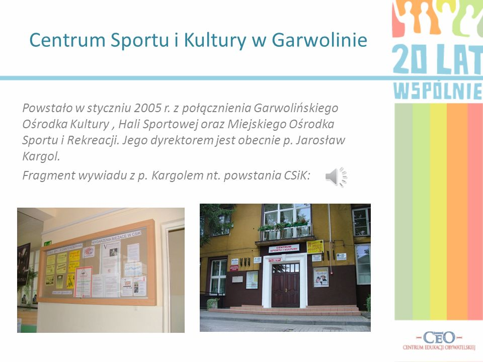 Centrum Sportu i Kultury w Garwolinie