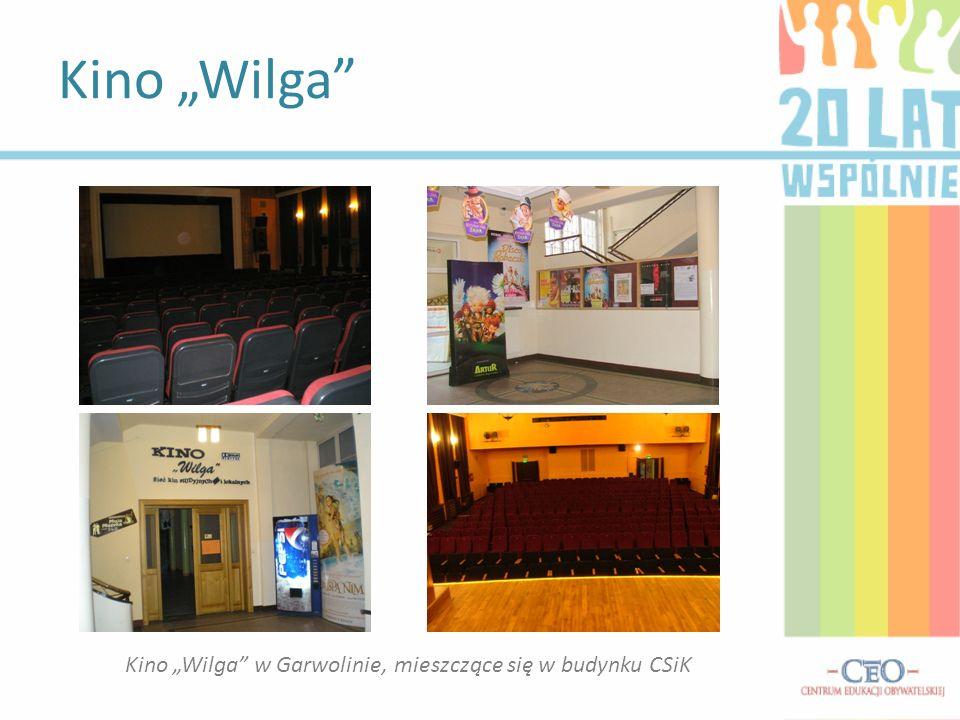 """Kino """"Wilga w Garwolinie, mieszczące się w budynku CSiK"""