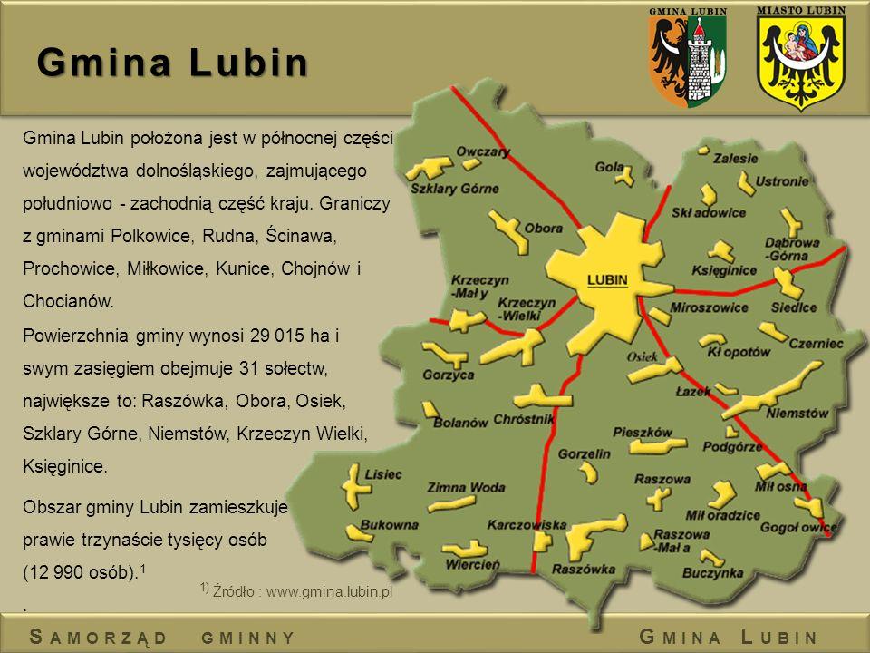 Gmina Lubin Samorząd gminny Gmina Lubin