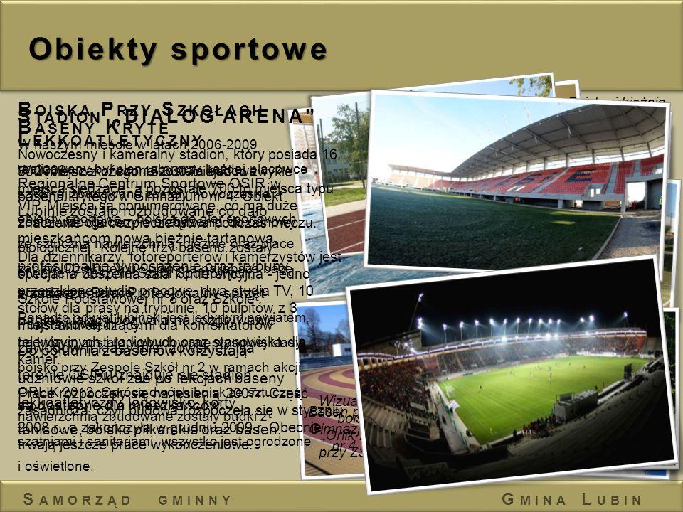 """Obiekty sportowe Boiska Przy Szkołach Stadion """"DIALOG ARENA"""