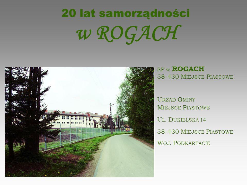 20 lat samorządności w ROGACH