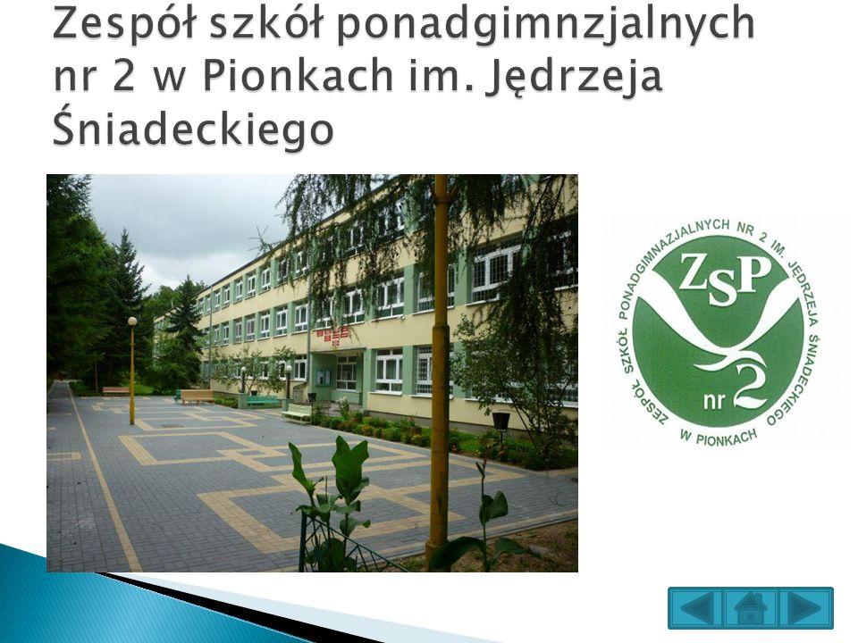 Zespół szkół ponadgimnzjalnych nr 2 w Pionkach im
