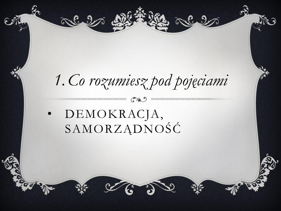 Demokracja, Samorządność