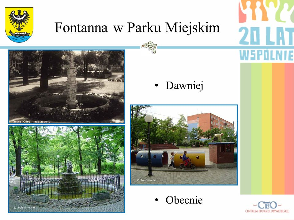 Fontanna w Parku Miejskim