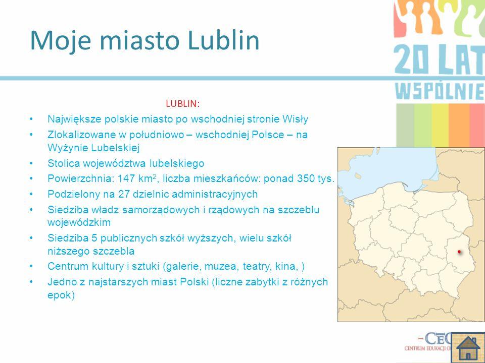 Moje miasto Lublin LUBLIN: