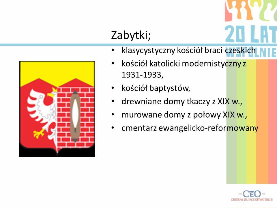 Zabytki; klasycystyczny kościół braci czeskich