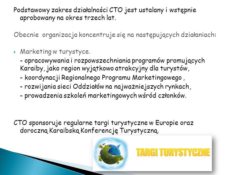 Podstawowy zakres działalności CTO jest ustalany i wstępnie aprobowany na okres trzech lat.