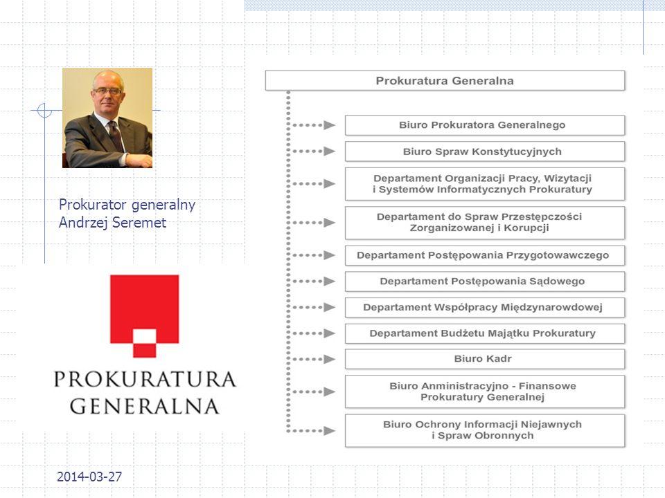 Prokurator generalny Andrzej Seremet 2017-03-28