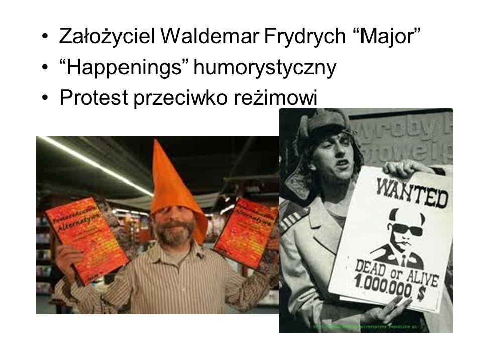 Założyciel Waldemar Frydrych Major