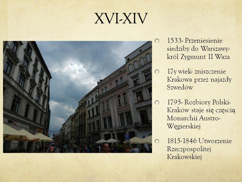 XVI-XIV 1533- Przeniesienie siedziby do Warszawy- król Zygmunt II Waza