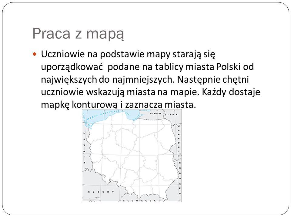 Praca z mapą