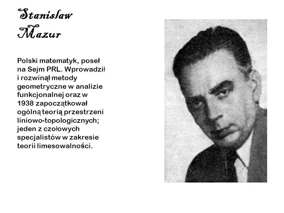 Stanislaw Mazur