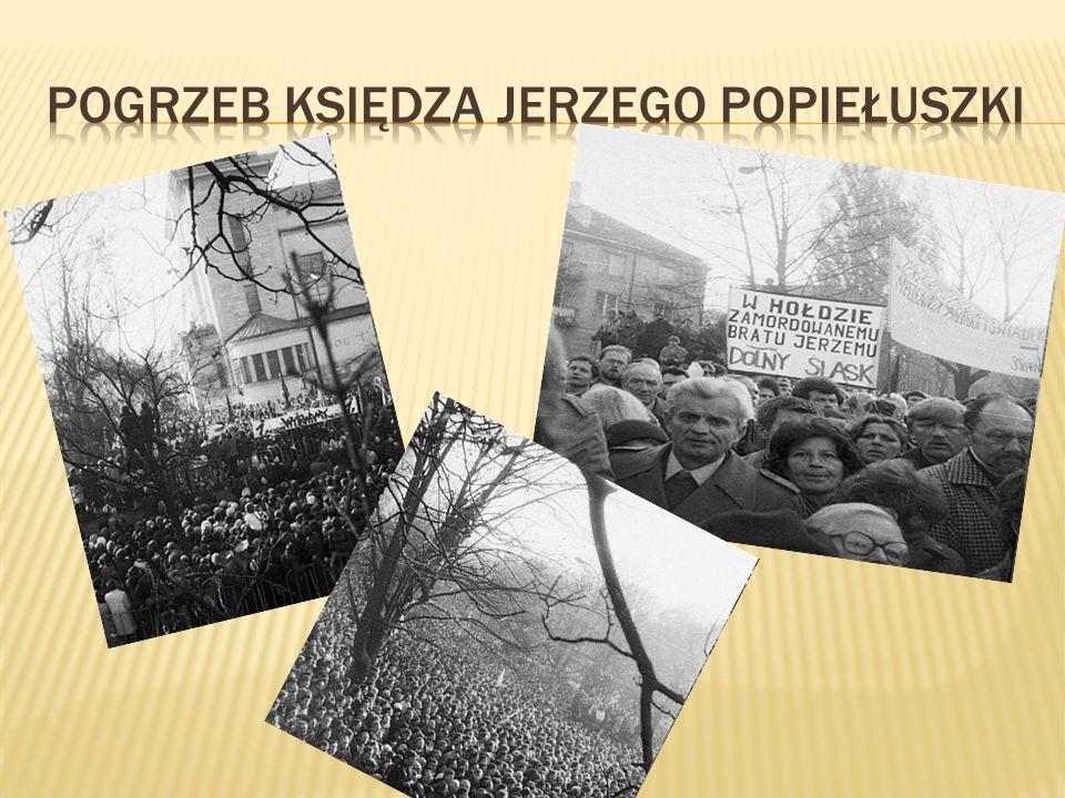 Pogrzeb Księdza Jerzego Popiełuszki