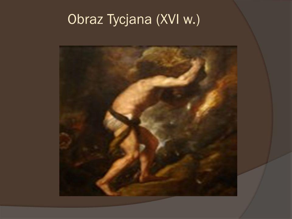 Obraz Tycjana (XVI w.)