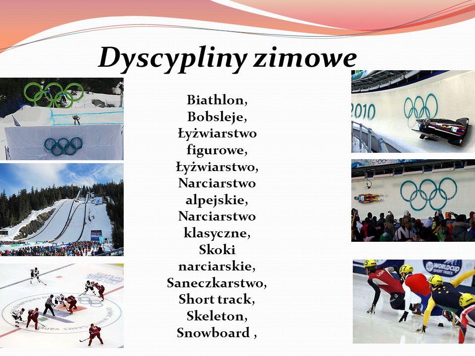 Dyscypliny zimowe