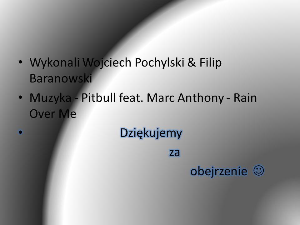 Wykonali Wojciech Pochylski & Filip Baranowski