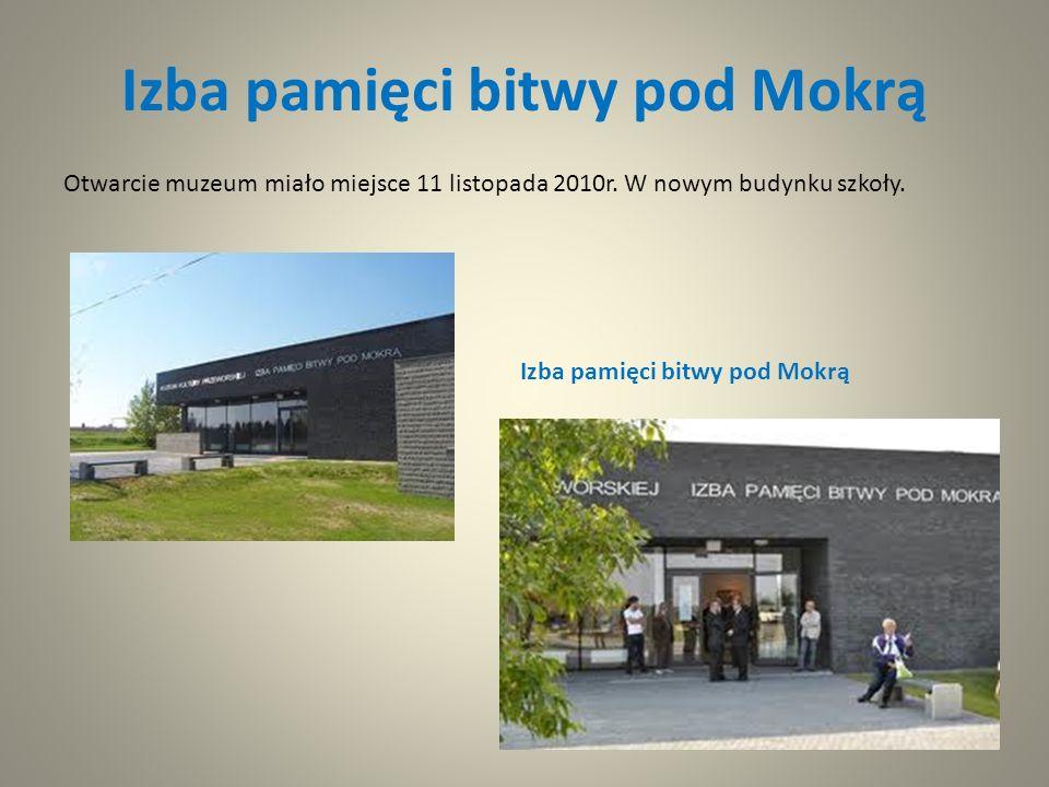 Izba pamięci bitwy pod Mokrą