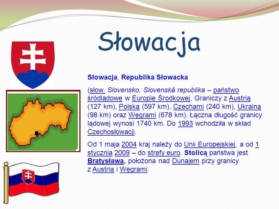 Słowacja Słowacja, Republika Słowacka