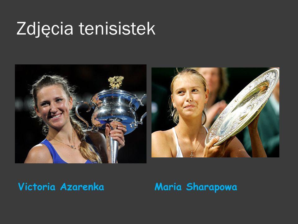 Zdjęcia tenisistek Victoria Azarenka Maria Sharapowa