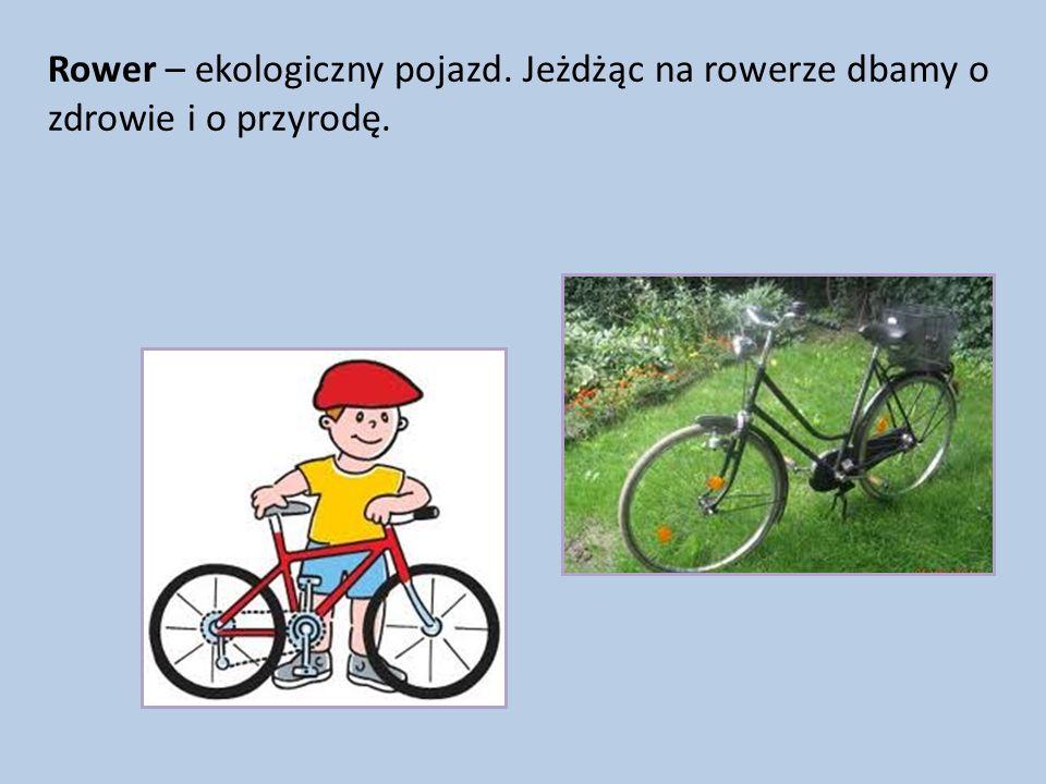 Rower – ekologiczny pojazd