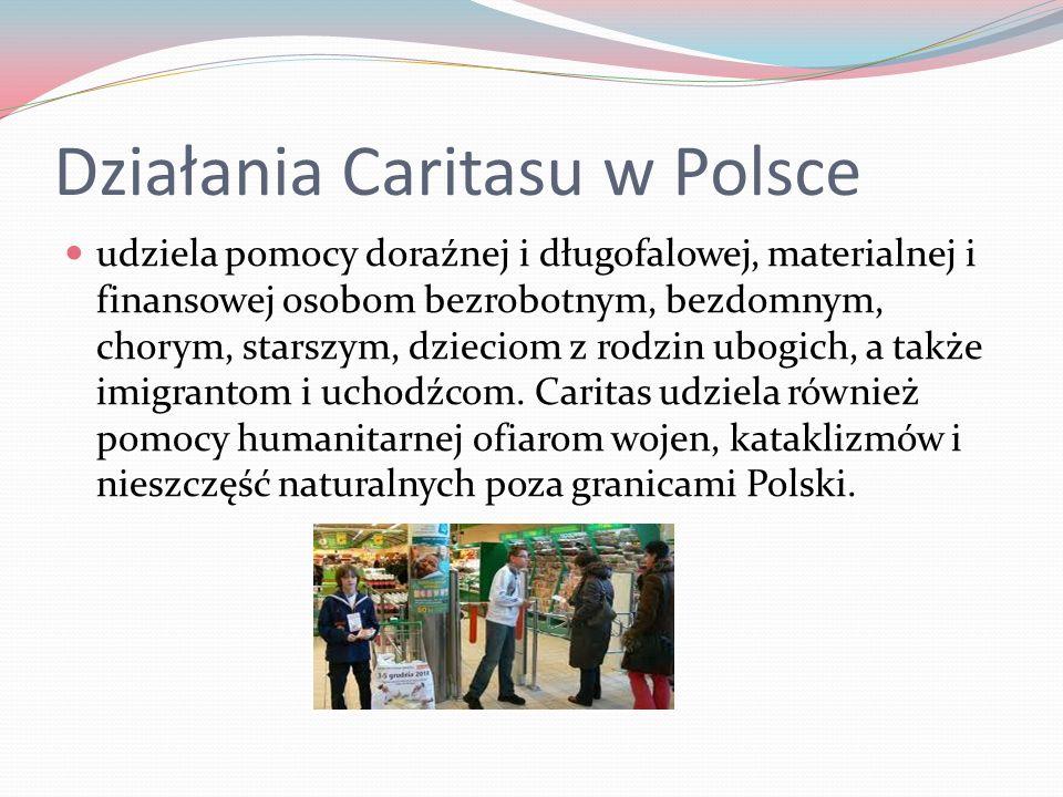 Działania Caritasu w Polsce