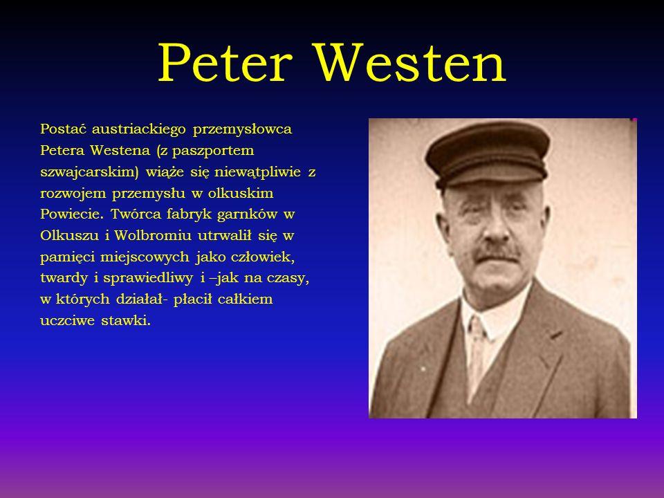 Peter Westen Postać austriackiego przemysłowca