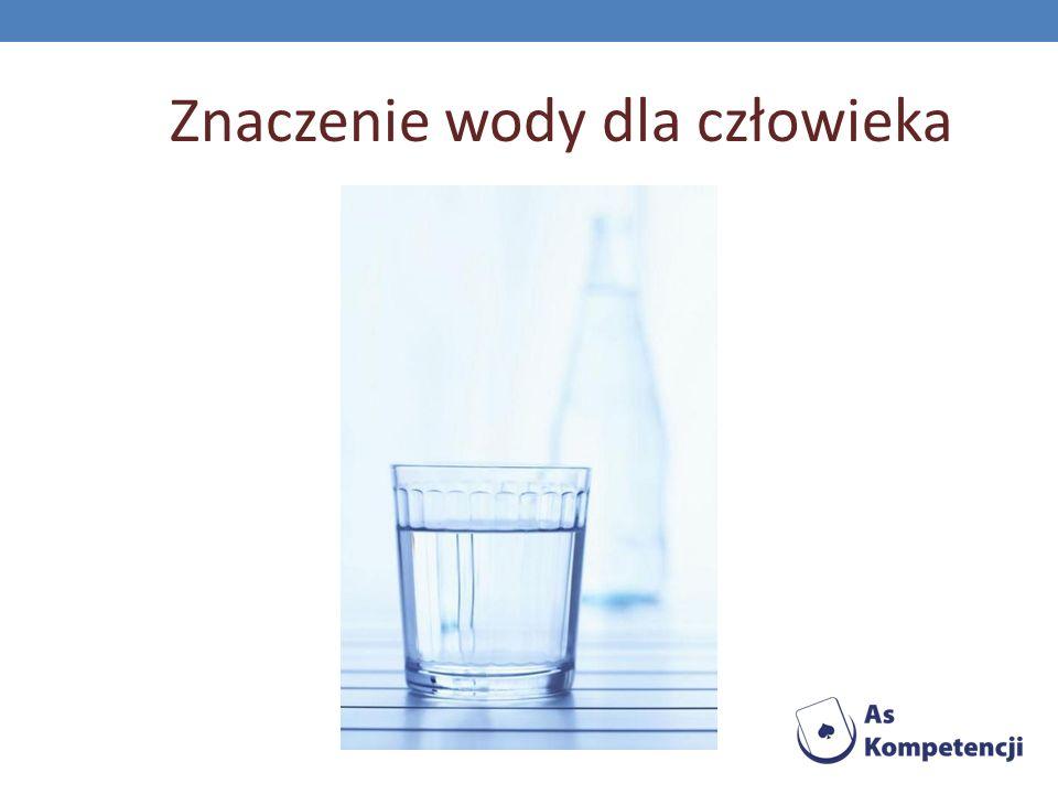 Znaczenie wody dla człowieka