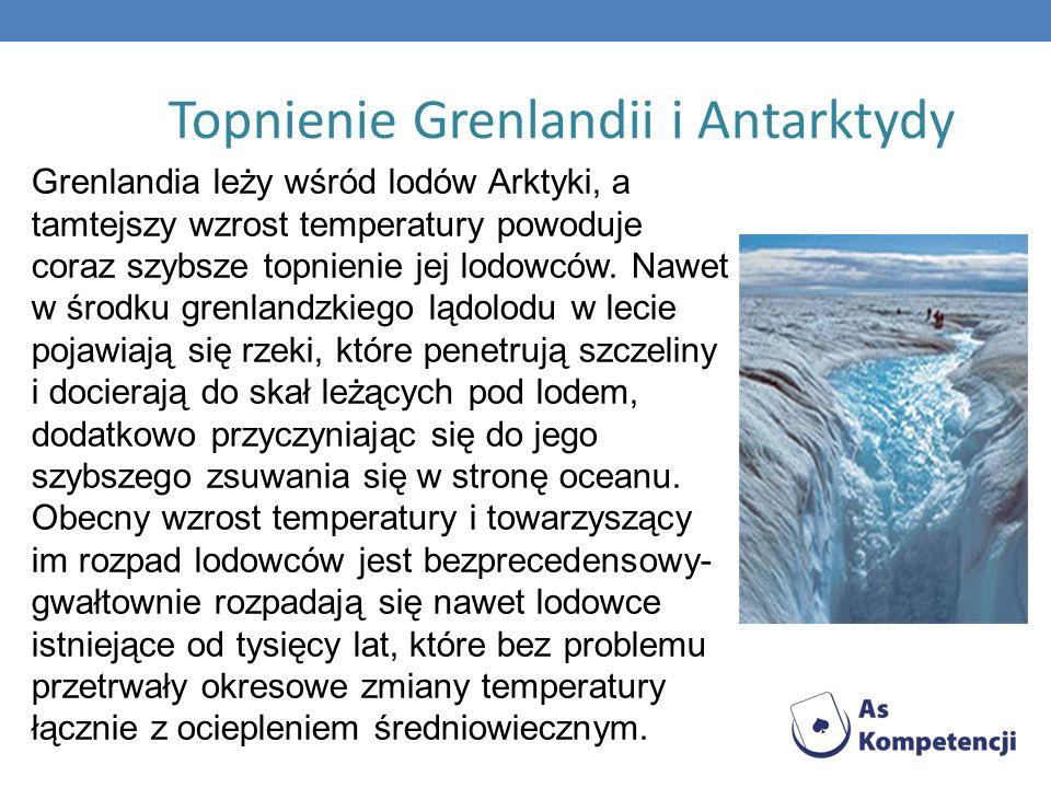 Topnienie Grenlandii i Antarktydy