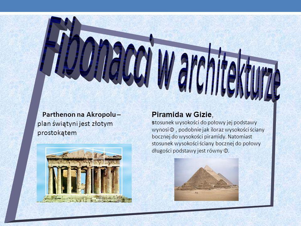 Parthenon na Akropolu – Piramida w Gizie,