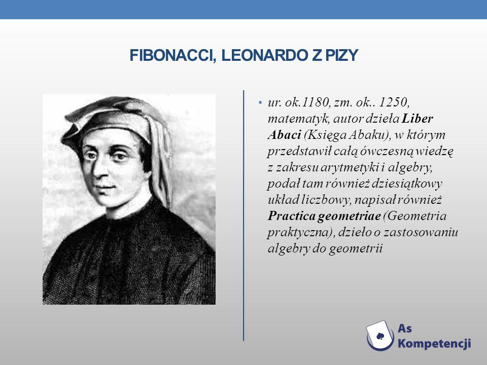 Fibonacci, Leonardo z Pizy