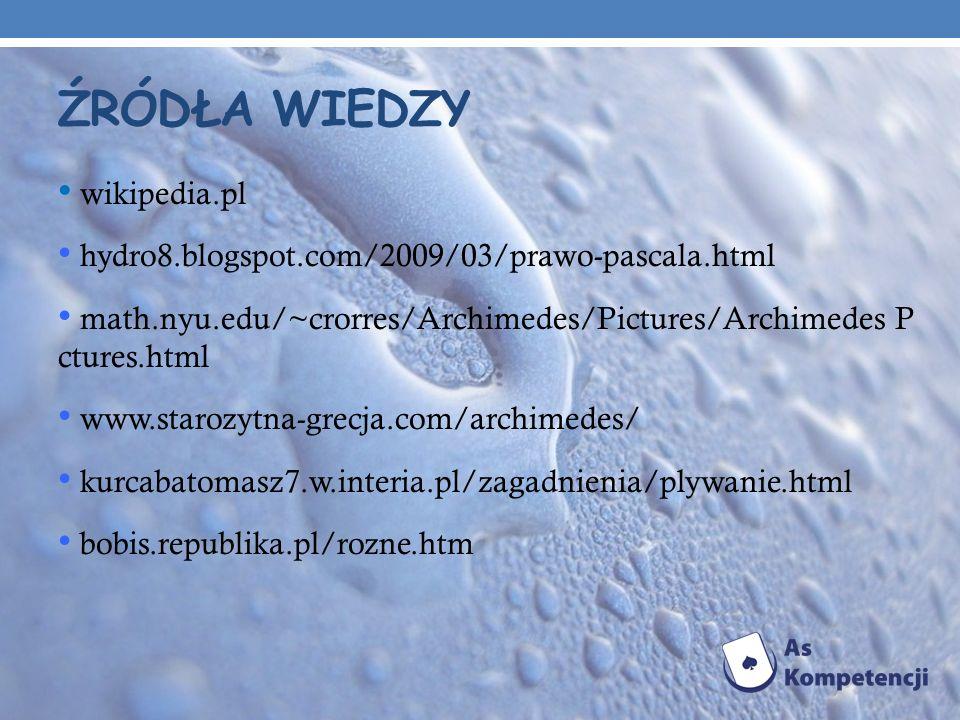 Źródła wiedzy wikipedia.pl