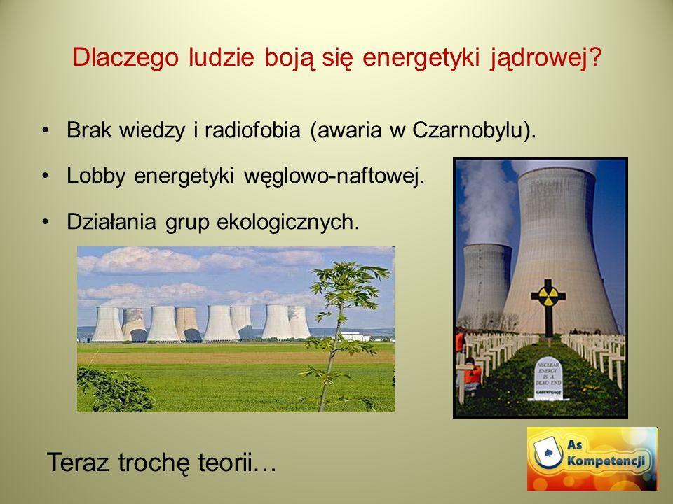 Dlaczego ludzie boją się energetyki jądrowej