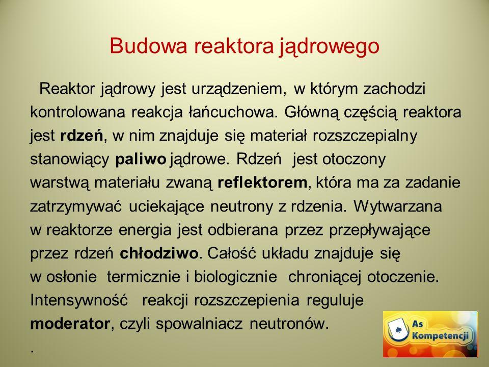 Budowa reaktora jądrowego