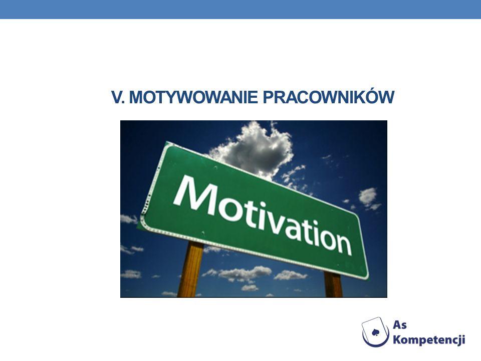 v. Motywowanie pracowników