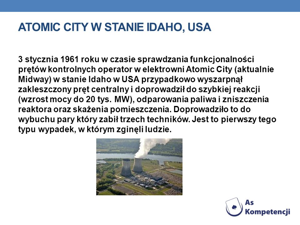 Atomic City w stanie Idaho, USA