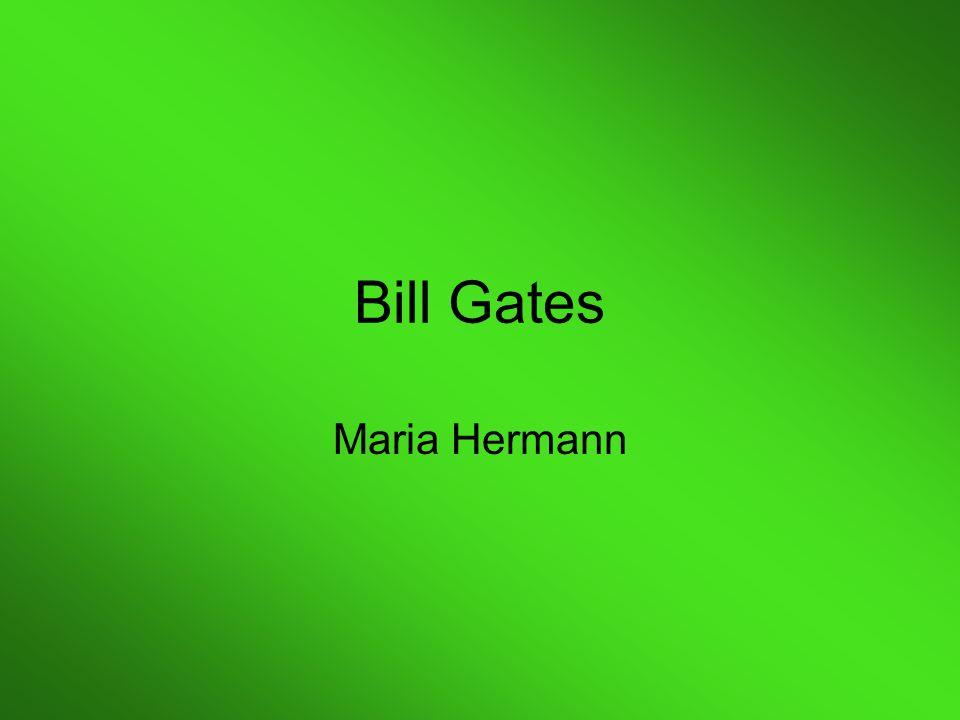 Bill Gates Maria Hermann