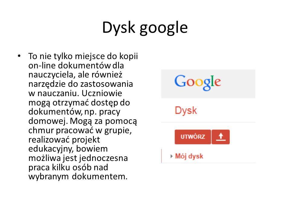 Dysk google