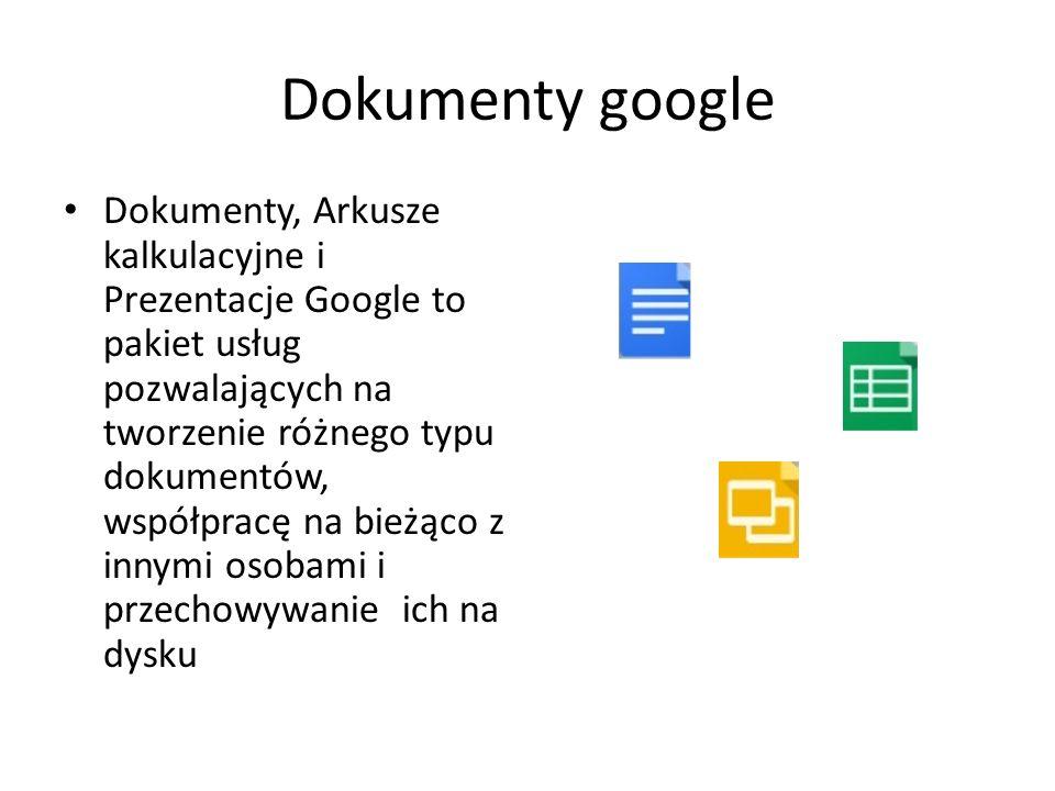 Dokumenty google