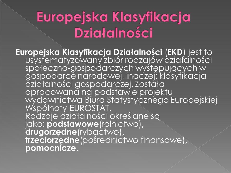 Europejska Klasyfikacja Działalności