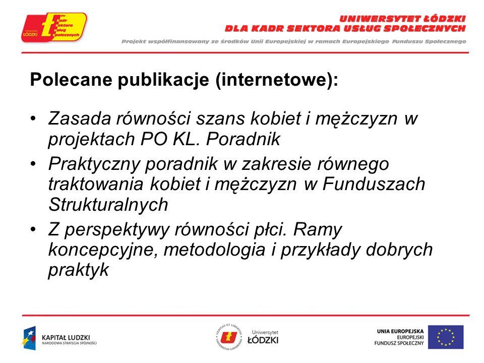 Polecane publikacje (internetowe):