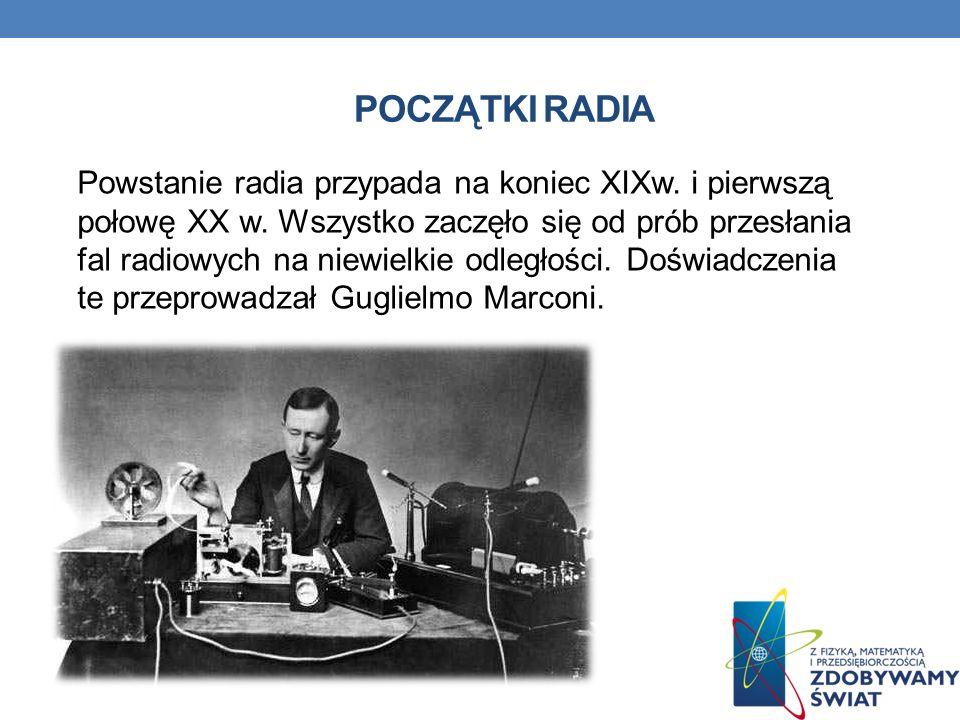 Początki radia