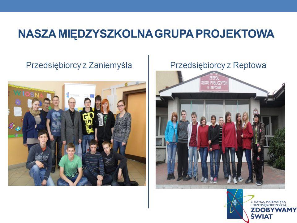 Nasza międzyszkolna grupa projektowa