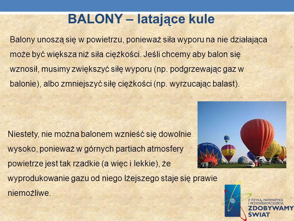 BALONY – latające kule