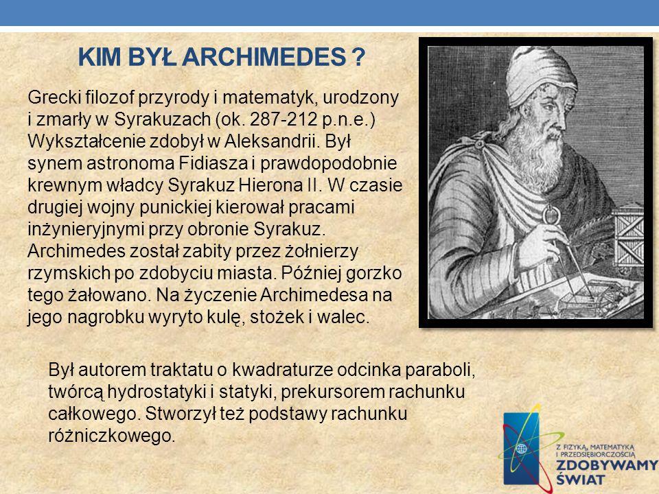 Kim był Archimedes