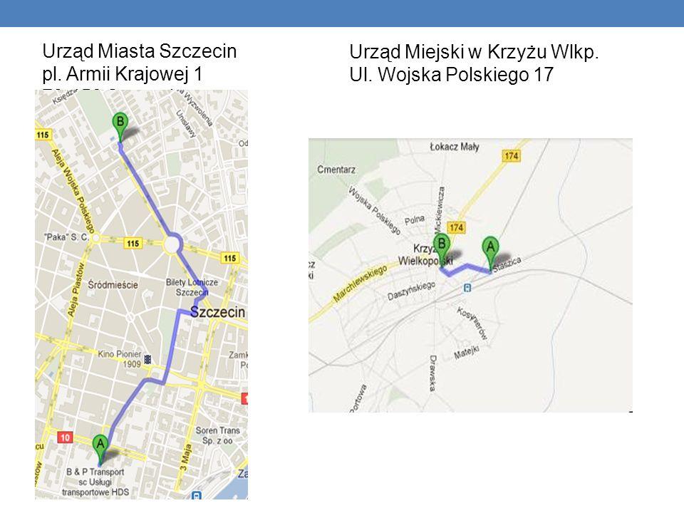 Urząd Miasta Szczecin pl. Armii Krajowej 1 70-456 Szczecin