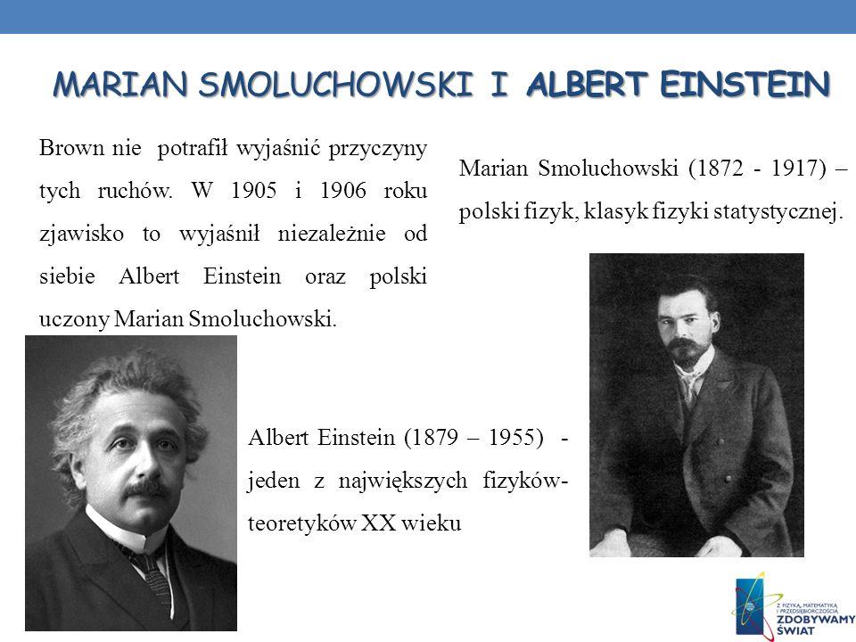 Marian Smoluchowski i Albert Einstein