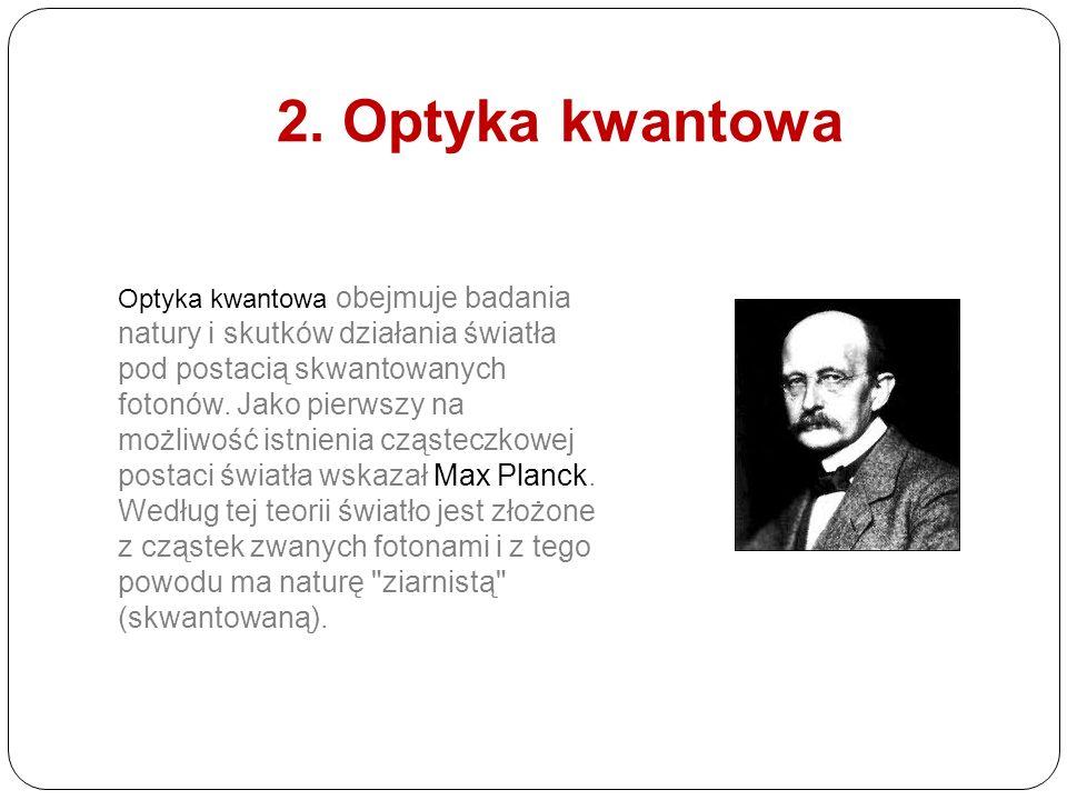 2. Optyka kwantowa