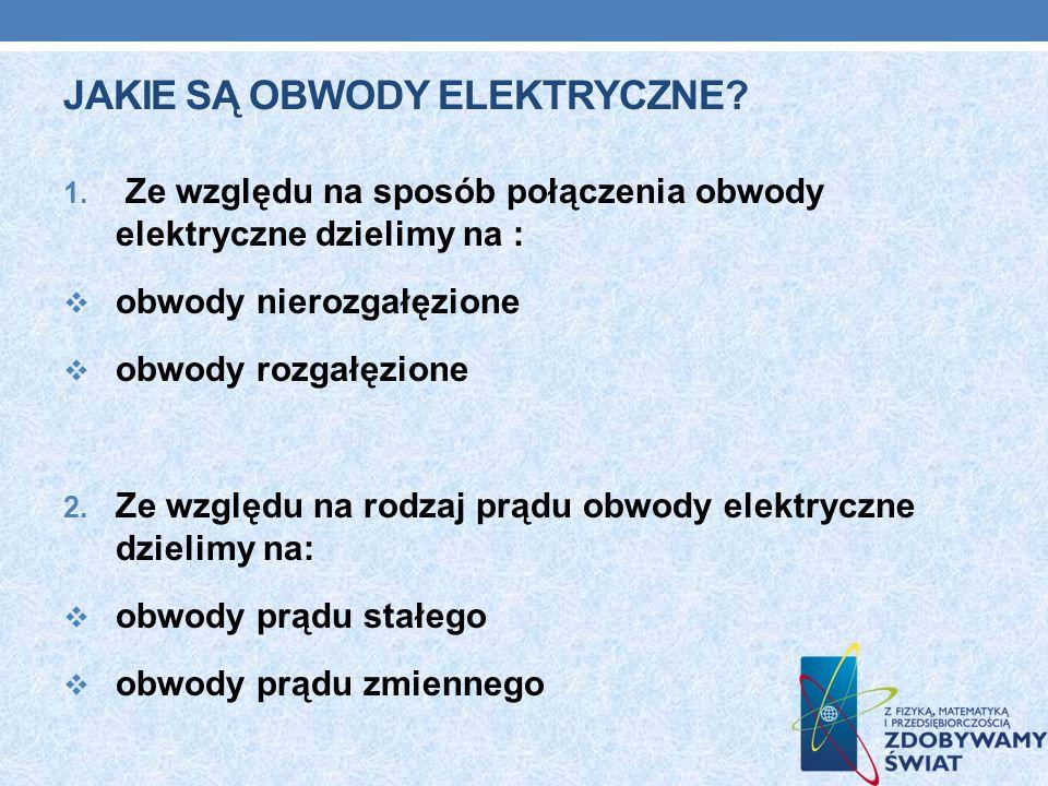 Jakie są obwody elektryczne